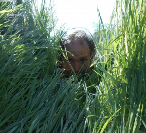 Author and music loving grass farmer, Forrest Pritchard