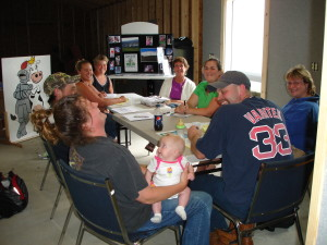 Kingdom Creamery of Vermont, hard at work business planning, and having fun while doing it!