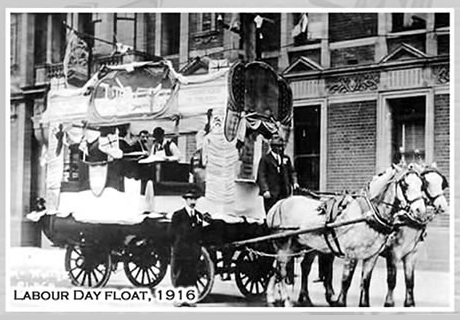 A 1916 Labor Day Float