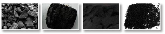 The faces of biochar