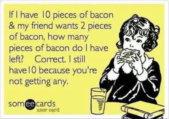 mmm….Bacon
