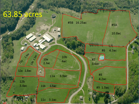 Map for grazing Chart 1