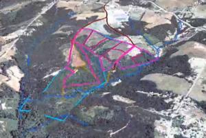 Sample Paddock Map