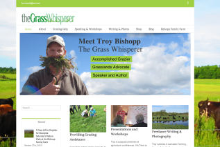 Kathy helped Troy to build a new website to reflect his enthusiasm for grazing and all the help and information he has to offer. We'd be tickled if you'd check it out!