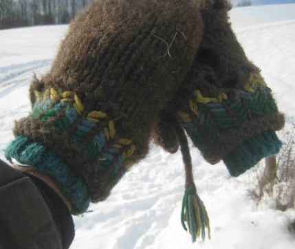 Troys mittens from Catharina Kessler.