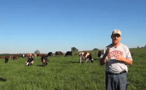 Bert Paris, outstanding in his pasture