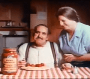 Mama Mia, attsa some spicy meatballa!  Remember this alka seltzer commercial.  We'v found it for you on Youtube.  Click to see it!