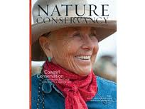 "Back in 2010, The Nature Conservancy made Heidi Redd their ""cover girl"" because ""Conservation is about nature and people. Our work to protect habitat benefits people too - whether by alleviating poverty, protecting drinking water or helping ranchers stay in business."""