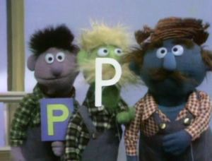 """Today's article is brought to you by the letter """"P"""""""