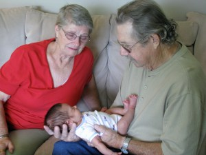 Don and Betty Ashford and Great Grand Child