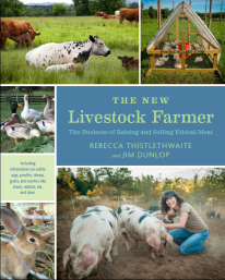 Rebecca's new book just recently hit the shelves. You can buy it at the On Pasture bookstore (service by Amazon and 10% of proceeds go to On Pasture!)