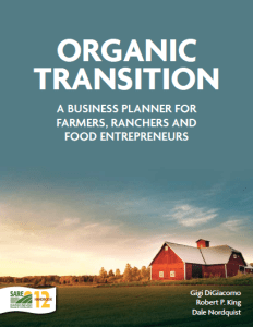 Transition to Organic Cover