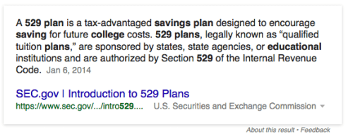 529 plan definition