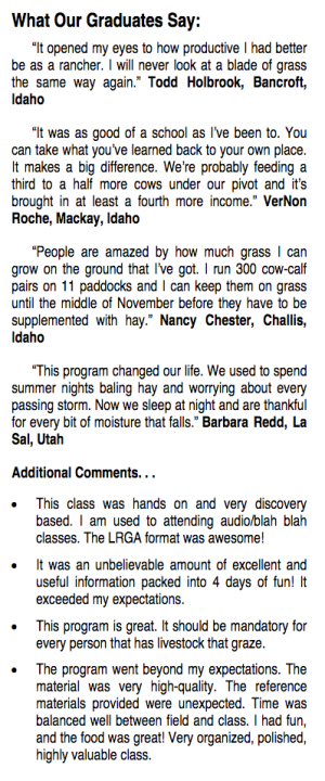 Lost River Grazing Academy Quotes