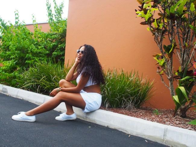 White on Colour