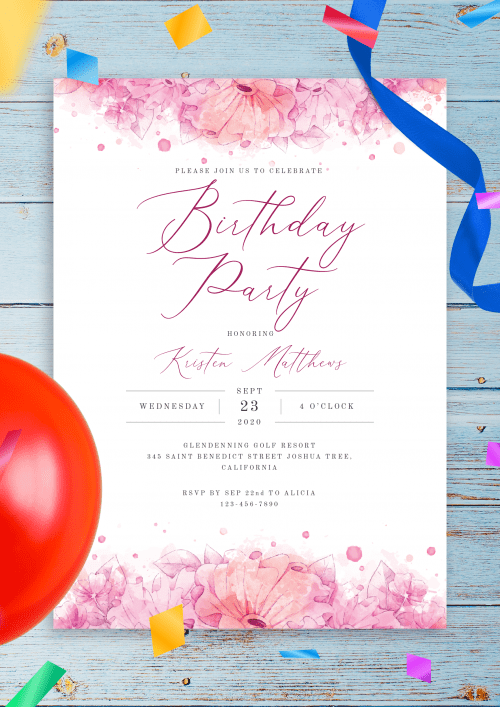 party invitation templates download