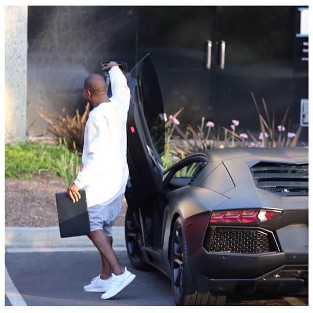 Kanye West Light Shoes