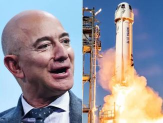 Jeff Bezoz space
