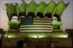 Flag In Iraq