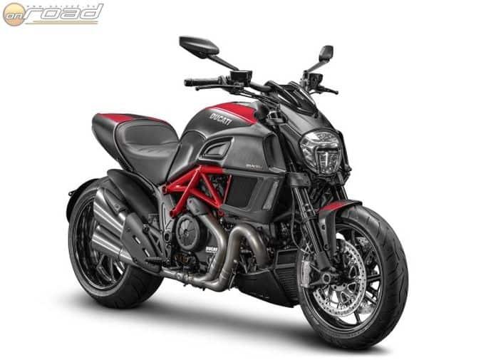 Ducati Diavel 2014 - mint egy harcra kész Alien