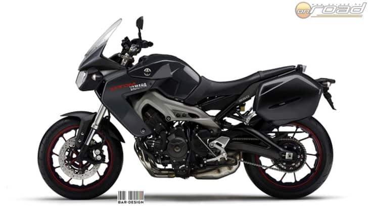 Luca Bar fejéből egy ilyen Yamaha pattant ki egy évvel ezelőtt - a mostanában kiszivárgott képeken nagyon hasonló motor láthatunk