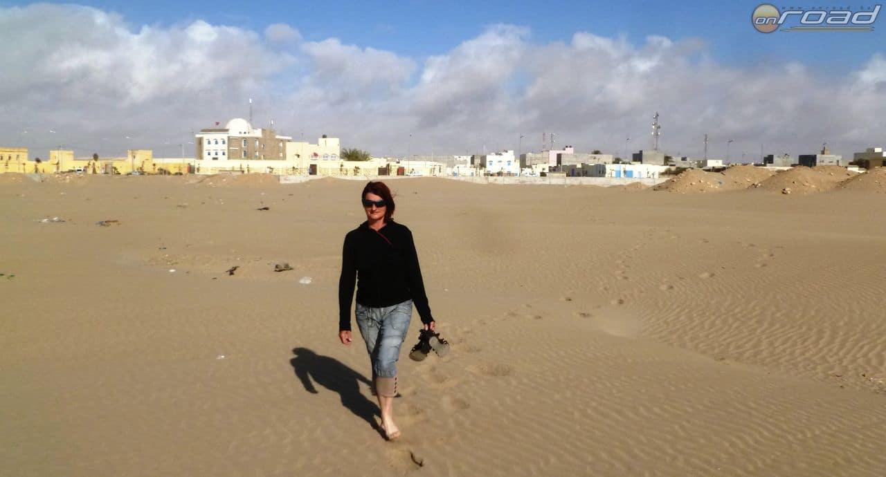 Tarfaya a sivatag felől