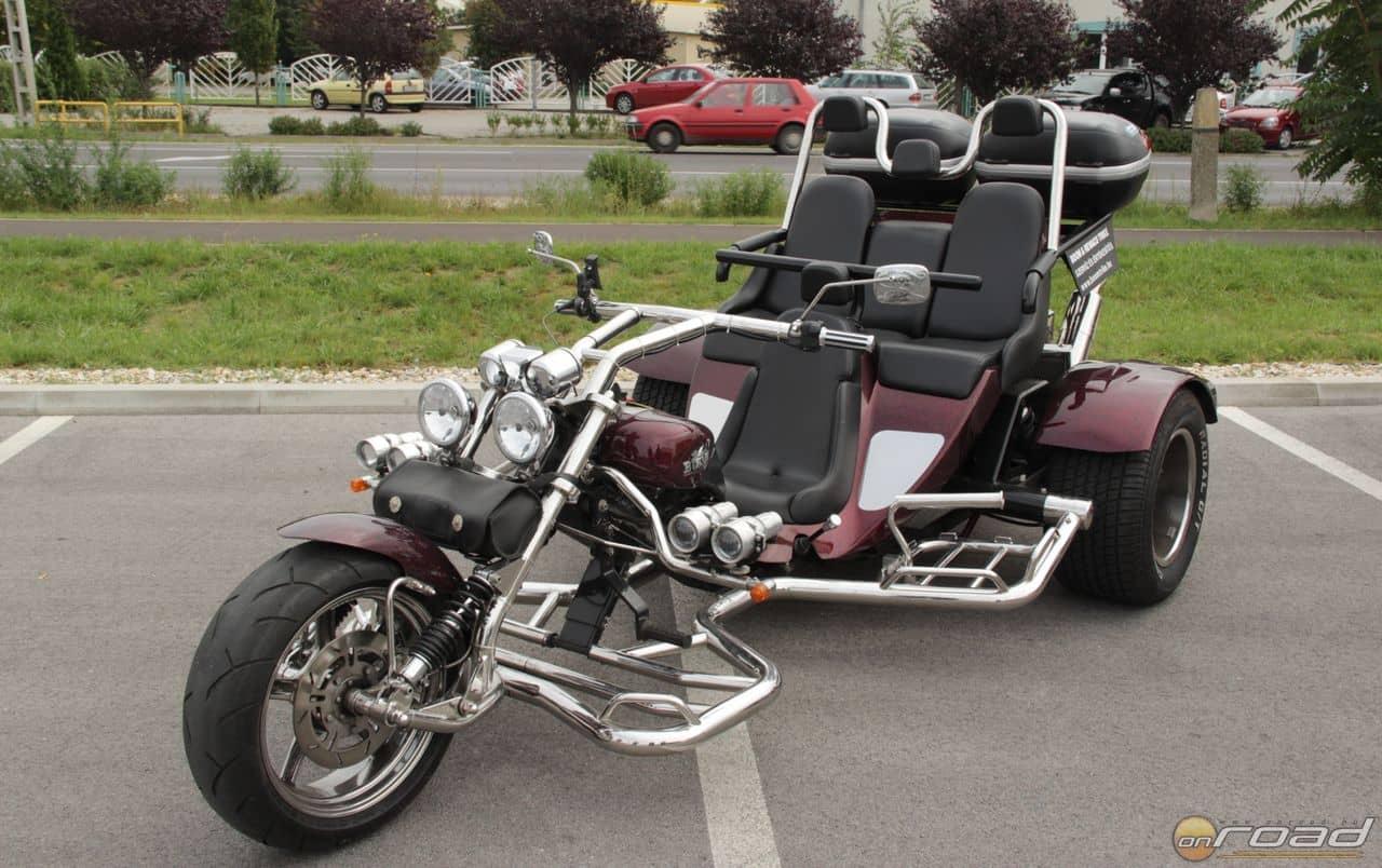 A Boom Trikes Low Rider igazi szörnyeteg: lapos és széles monstrum