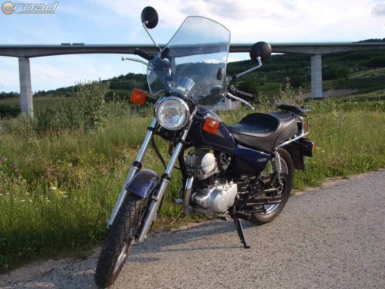 Az SR125 - 10 évesen, az eladás előtt nem sokkal