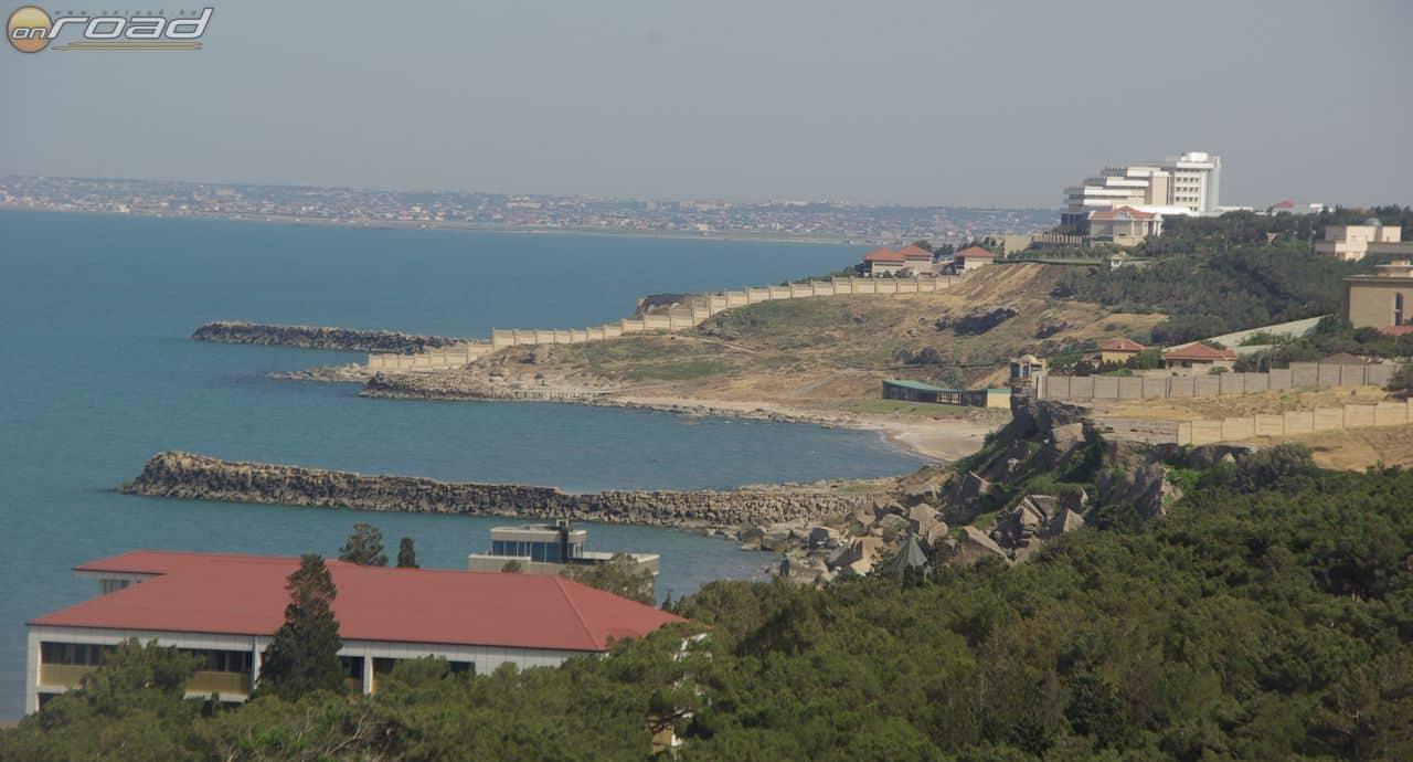 A Kaszpi-tenger partja