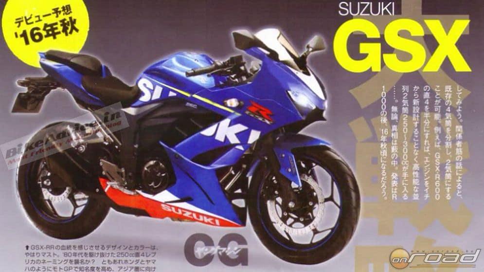 250-es Suzuki sportmotor. Hogy jut-e belőle Európába, azt nem tudhatjuk