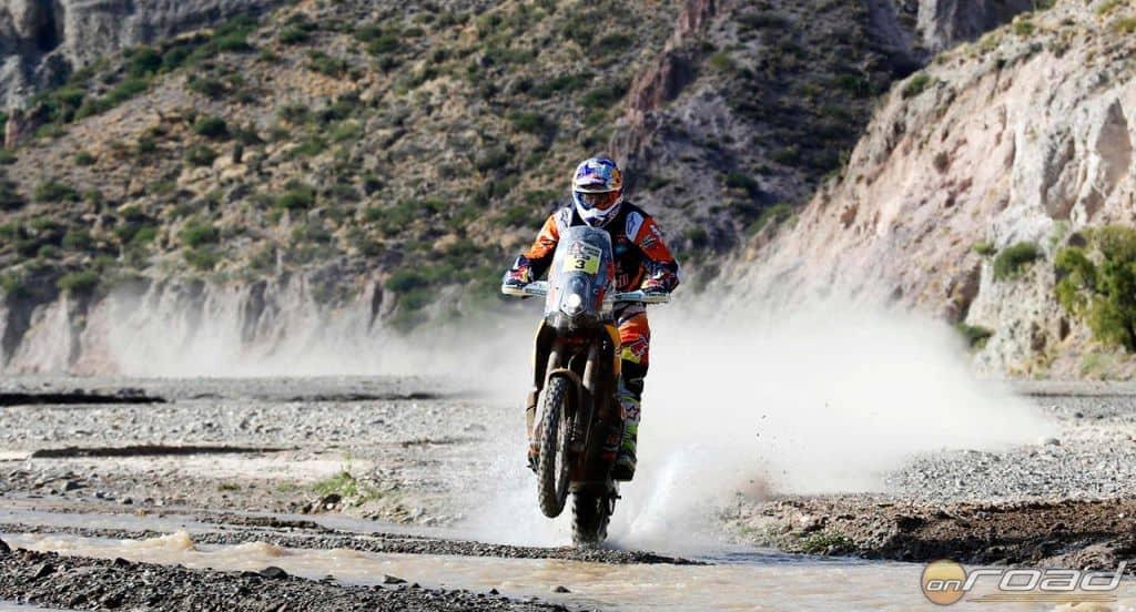 Toby Price kiugróan motorozott egész nap, fölényesen nyerte a szakaszt