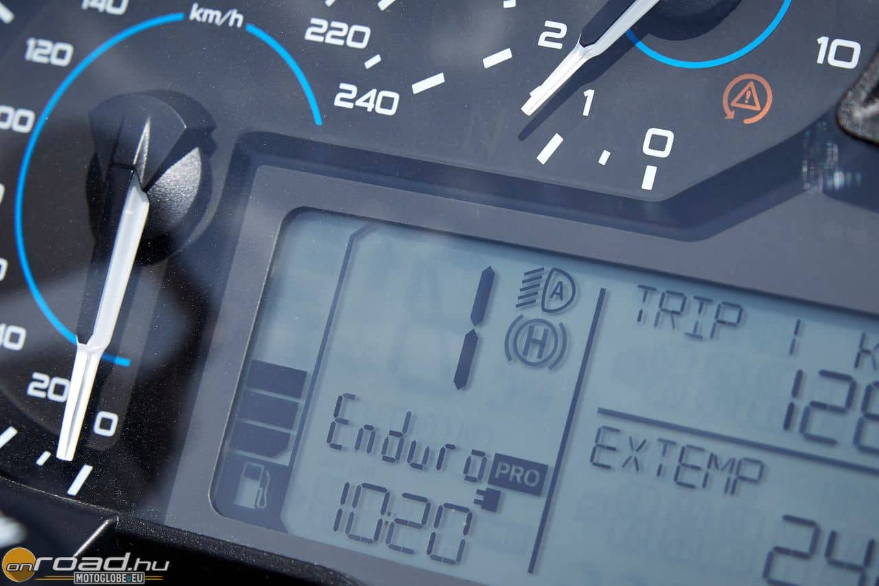 Az Enduro Pro kimondottan a durvább terephasználathoz készült menetprogram