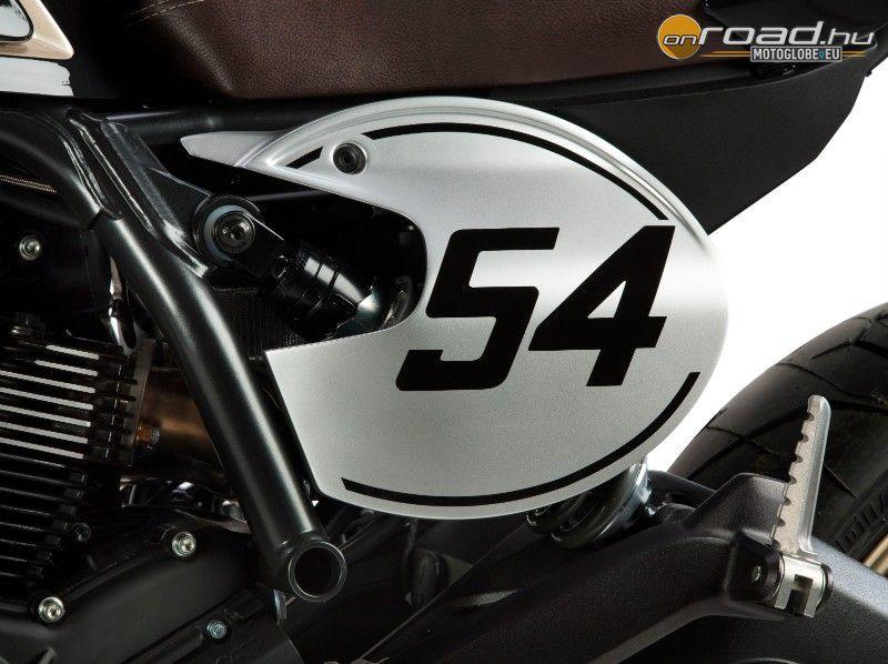 Sportos hatást kelt a Ducati rajtszámtáblája