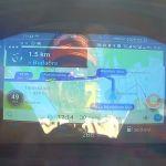 Ez a lényeg: körben a motor-adatok, középen végig hatlmas képen a navigáció. IMÁDTAM!!!