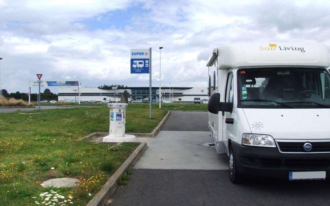 Puntos de servicio para autocaravanas