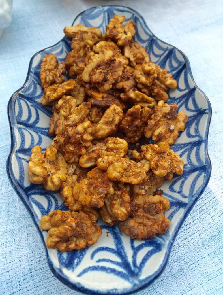 spiced walnuts