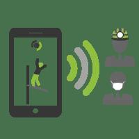 Comunique os acidentes de trabalho
