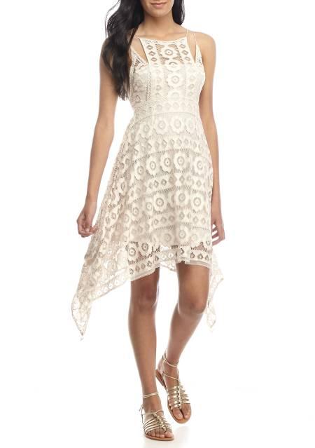 Just Like Honey Lace Dress, $60