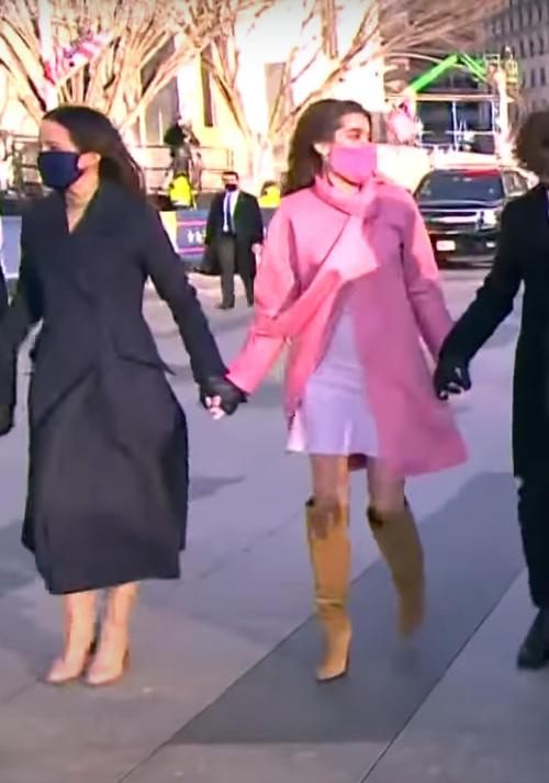 Natalie Biden's Inauguration 2021 coat