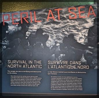 Canadian War Museum Survival in the Atlantic