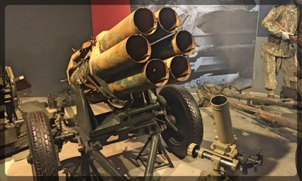 Canadian War Museum Nebelwerfer Screaming Mimi