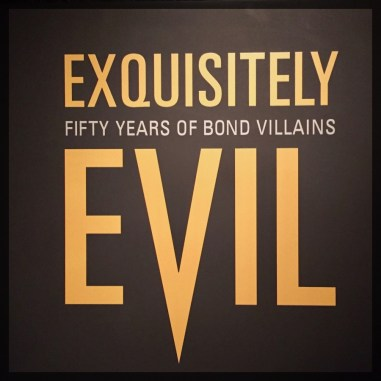 Spy Museum James Bond Villain 50 Years of Bond Villains