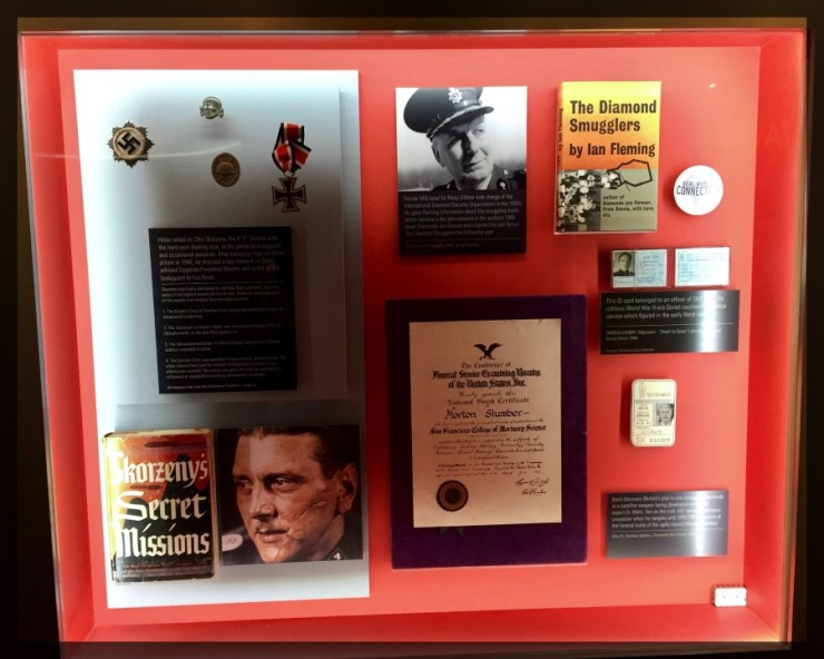 Spy Museum James Bond Ian Fleming Source Material