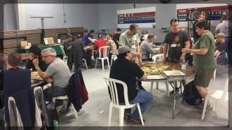 Open board game area, open all con long