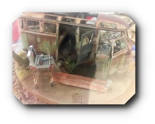 Hornet Hobbies Model VW Bus Side