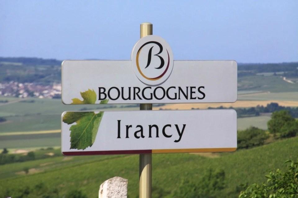 Vin Irancy Auxerre Bourgogne