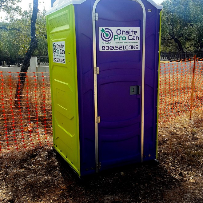 portable restroom rental san antonio
