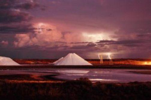 Spirit of the Salt by Mick Kelly - Onslow Salt via shire of Ashburton