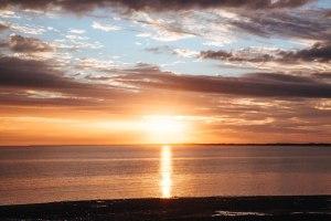 Sunrise over Beadon Bay, Onslow, Western Australia