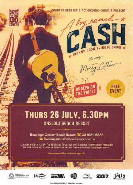 live music concert show onslow karratha exmouth hedland pilbara north west